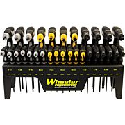 WHEELER DRIVER SET 30 PIECE HEX KEY/TORX P-HANDLE SET