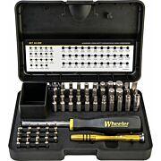 WHEELER 55-PC HEX/TORX SCREWDRIVER SET