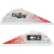 "BOHNING BLAZER VANES TRUE COLOR 2"" BLOOD SPLATTER 100PK"