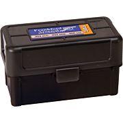 F/A AMMO BOX .223 50 ROUNDS BLACK/SMOKE HINGE TOP