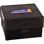 F/A AMMO BOX .223 100 ROUNDS BLACK/SMOKE HINGE TOP