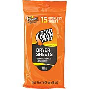 DDW DRYER SHEETS E1 3D+ 15 COUNT