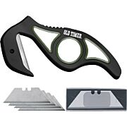 OLD TIMER KNIFE REPLACEABLE GUT HOOK KNIFE W/4 RAZOR BLDS