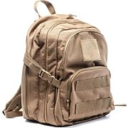 HACKETT LITTLE BERTHA 2 PISTOL RANGE BACKPACK COYOTE TAN
