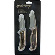 UNCLE HENRY KNIFE & LINER LOCK FOLDER STAGLON HNDLE PROMO Q3