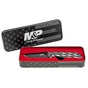 "S&W KNIFE AMERICAN PATRIOT POW MIA 3.2"" FOLDER PROMO Q4"