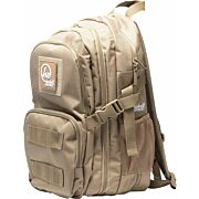 HACKETT BABY BERTHA 1 PISTOL CC RANGE BACKPACK COYOTE TAN