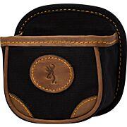 BG LONA CANVAS SHELL BOX CARRIER BLACK/BROWN