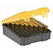 PLANO AMMO BOX .38/.357 100-RNDS FLIP TOP