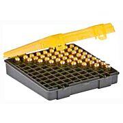 PLANO AMMO BOX .45ACP/.40S&W/ 10MM 100RD FLIP TOP