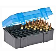 PLANO AMMO BOX MEDIUM RIFLE 50-RNDS FLIP TOP