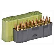 PLANO AMMO BOX LARGE RIFLE 20-RNDS SLIP TOP