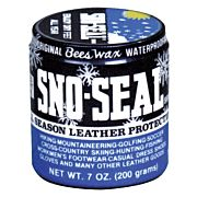 ATSKO SNO-SEAL BEESWAX LEATHER WATERPROOFING 7OZ