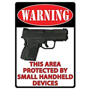 "RIVERS EDGE SIGN 12""x17"" WARNING-THIS AREA IS PROTECTED"