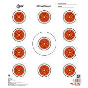 "ALLEN EZ AIM 11 SPOT TARGET 13-PK 12""X12"""