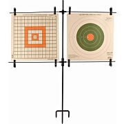 ALLEN PAPER TARGET STAND INCLUDES 8 CLIPS/STEEL FRAME