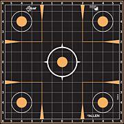 "ALLEN EZ AIM SPLASH ADHESIVE GRID TARGET 5-PK 12""X12"""