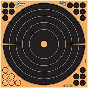 """ALLEN EZ AIM SPLASH ADHESIVE BULLSEYE TARGET 5-PK 12""""X12"""""""