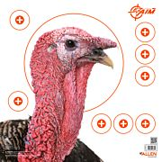 "ALLEN EZ AIM TURKEY TARGET 6-PK 12""X12"" 4 COLOR PATTERENG"