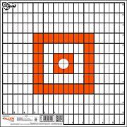 "ALLEN EZ AIM PAPER GRID TARGET 12-PK 12""X12"""