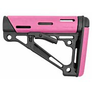 HOGUE AR-15 COLLAPSIBLE STOCK PINK RUBBER COMMERCIAL