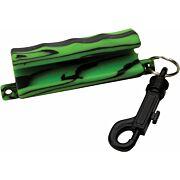 ALLEN ARROW PULLER SOFT RUBBER W/SNAP BLACK/GREEN