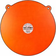 "AR-MOR 16"" AR500 STEEL GONG 3/8"" THICK STEEL ORANGE ROUND"
