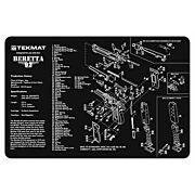 """TEKMAT ARMORERS BENCH MAT 11""""x17"""" BERETTA 92 PISTOL"""