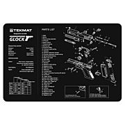 """TEKMAT ARMORERS BENCH MAT 11""""x17"""" GLOCK 17 G3"""