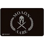 "TEKMAT ARMORERS BENCH MAT 11""x17"" MOLON LABE FLAG"