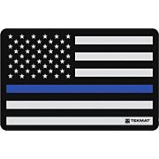 """TEKMAT ARMORERS BENCH MAT 11""""X17"""" POLICE SUPPORT FLAG"""