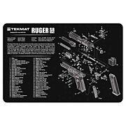 """TEKMAT ARMORERS BENCH MAT 11""""x17"""" RUGER SR9/SR40 PISTOL"""