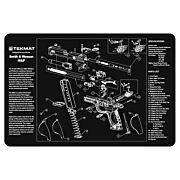 "TEKMAT ARMORERS BENCH MAT 11""x17"" S&W M&P PISTOL"