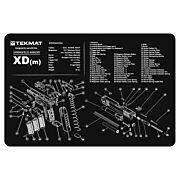 "TEKMAT ARMORERS BENCH MAT 11""x17"" SPRINGFIELD XDM PISTOL"