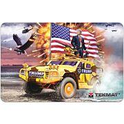 """TEKMAT ARMORERS BENCH MAT 11""""x17"""" TRUMP!"""