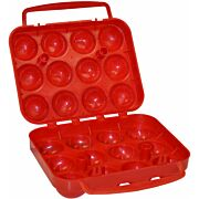 COLEMAN PLASTIC EGG CONTAINER HOLDS 12 EGGS