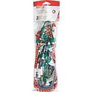 "COLEMAN STETCH CORDS ASSORTED COLORS 2 EA 12""/18""/24"" CORDS"