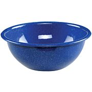 "COLEMAN 6"" ENAMEL MIXING BOWL CLASSIC BLUE SPECKLED"