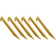 "COLEMAN 9"" ABS TENT STAKES 6 STAKES PER PACK"