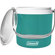 COLEMAN PARTY CIRCLE COOLER 9QT SEAFOAM GREEN W/LID