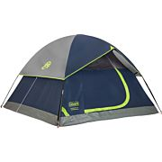 COLEMAN SUNDOME TENT 9' X 7' 4 PERSON NAVY/GREY