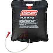 COLEMAN 5-GALLON SOLAR SHOWER W/ ON/OFF SHOWER VALVE HEAD