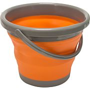"UST FLEXWARE BUCKET ORANGE 1.3 GALLON CAPACITY 7.75""X10"""