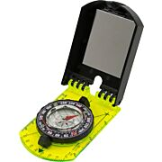 UST HI VIS FOLDING MAP COMPASS W/SIGHTING MIRROR & SLP INDCTR