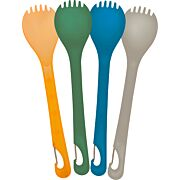 UST KLIPP SPORK 4-PACK ASSORTED COLORS BPA FREE
