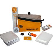 UST FEATHERLITE SURVIVAL KIT 1.0 ORANGE W/8 TOTAL PIECES