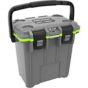 PELICAN COOLERS IM 20 QUART ELITE DKGRAY/GREEN LEG CUT OUT
