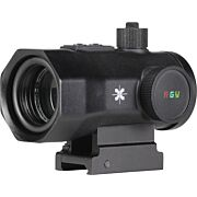 AXEON 1X30MM RED/GREEN/YELLOW DOT SIGHT BLACK MATTE
