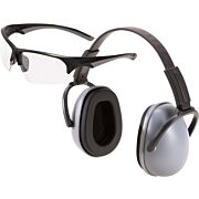 ALLEN PASSIVE MUFF & EYE COMBO 23DB GRAY MUFFS/CLEAR EYES