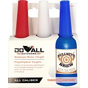 DO-ALL TARGET FACTORY BOTTLES W/CORD 3PK RED/YELLOW/ORANGE